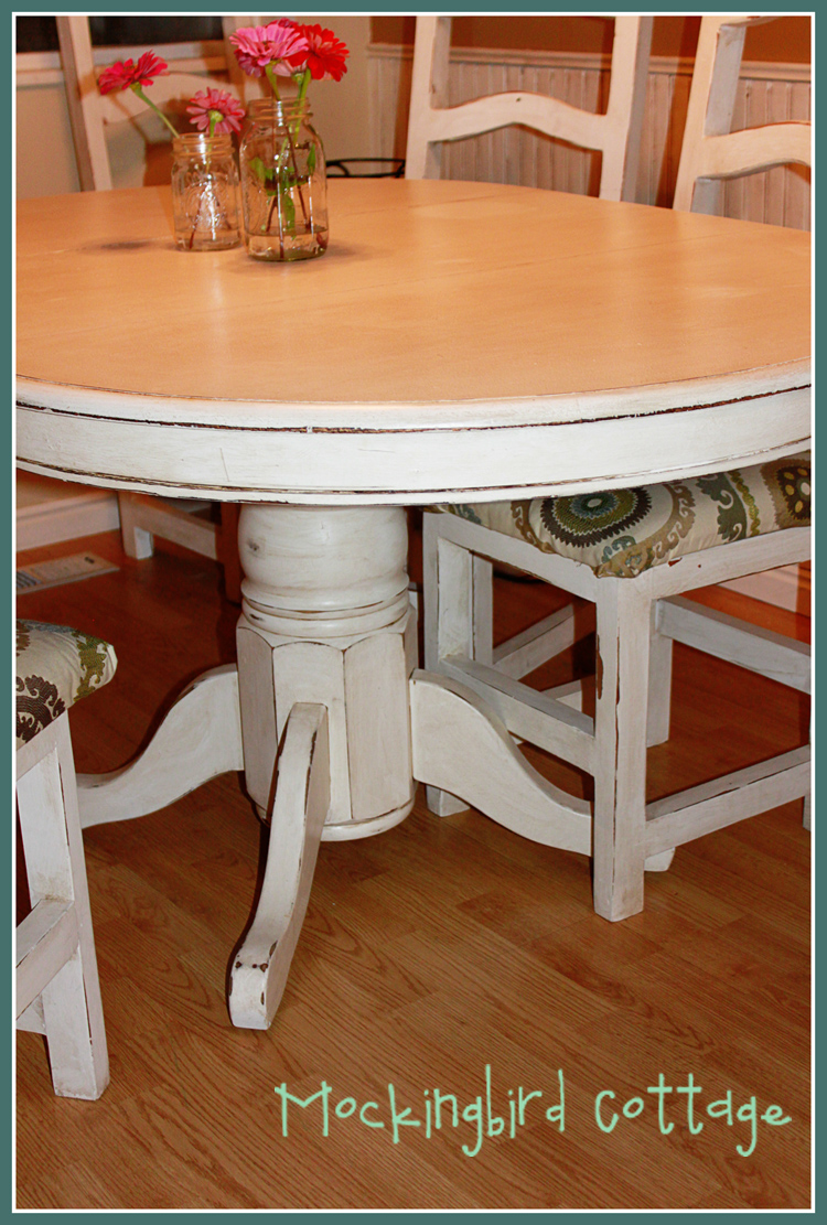 Mockingbird Cottage Refinished Kitchen Table And Chairs