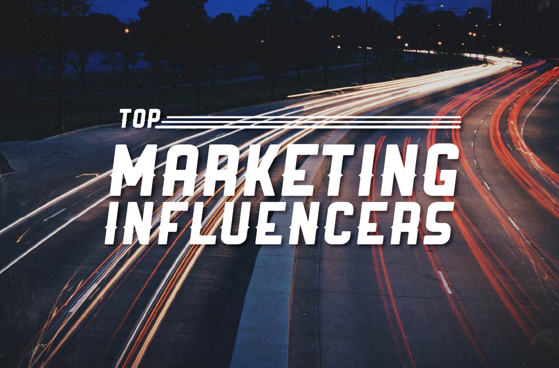 Top 25 B2B Marketing Influencers of 2014 - #infographic