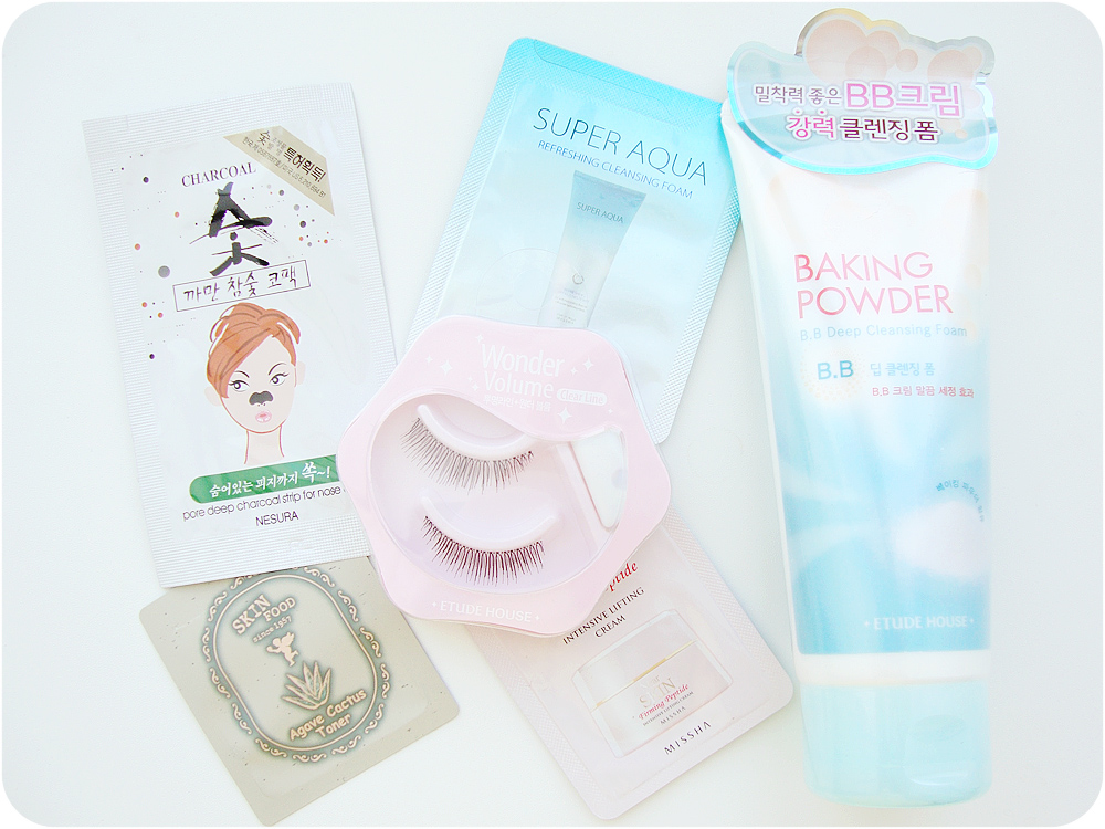 Etude House, Backing Powder B.B. Deep Cleansing Foam, False Eyelashes, Natural Eyelashes, Clear Line Wonder Volume, Reviews