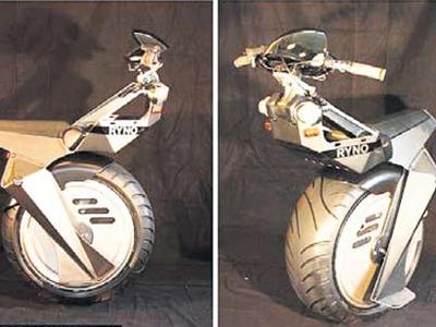 Skuter Ryno, menggunakan kuasa bateri dan mampu mencapai kelajuan sebanyak 40 kilometer sejam.