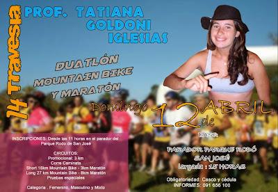 Aventura - Travesía Tatiana Goldoni Iglesias (San José, 12/abr/2015)