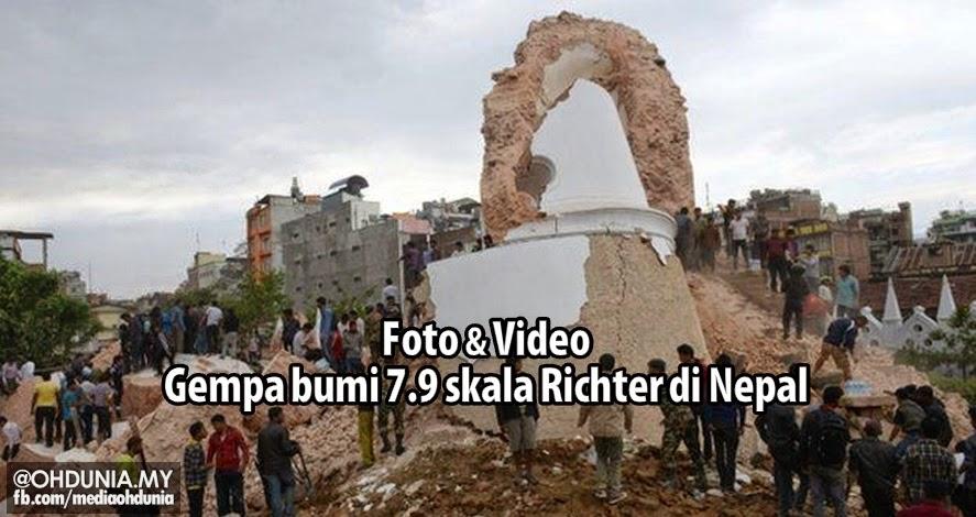 Video + Foto: Everest bergegar, ibu kota Nepal musnah akibat gempa