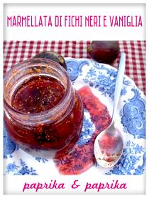 Marmellata di Fichi Neri e Vaniglia - Paprika & Paprika
