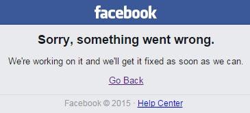 Facebook volta a apresentar instabilidade em todo o mundo