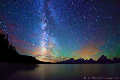 Nightscape Photography - Jackson Lake Tetons