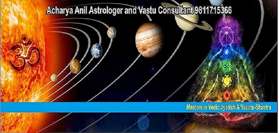 Acharya Anil Astrologer and Vaastu Consultant