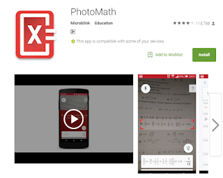 Aplikasi Android Terbaru 2016 Photomath