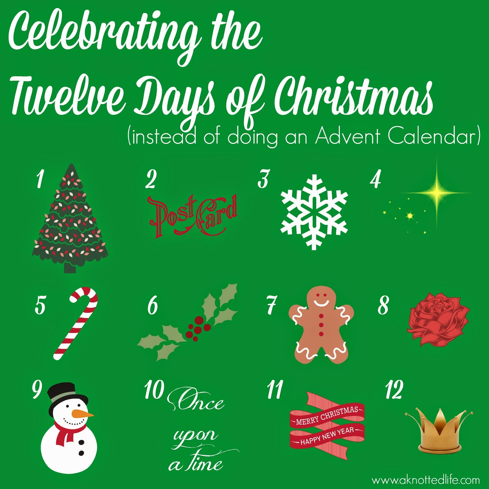 Celebrating the Twelve Days of Christmas (and how it made my ...