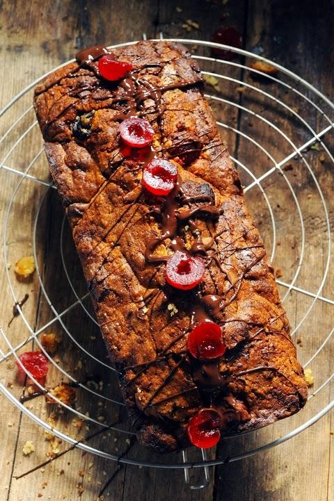 Le vendredi c'est retour vers le futur… Cakochocolat aux cerises ! parce que j'ai le cake qui me reprend !