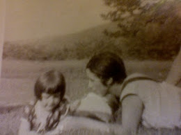 Louise and daughter Anne in Ashfield, Mass. circa 1926