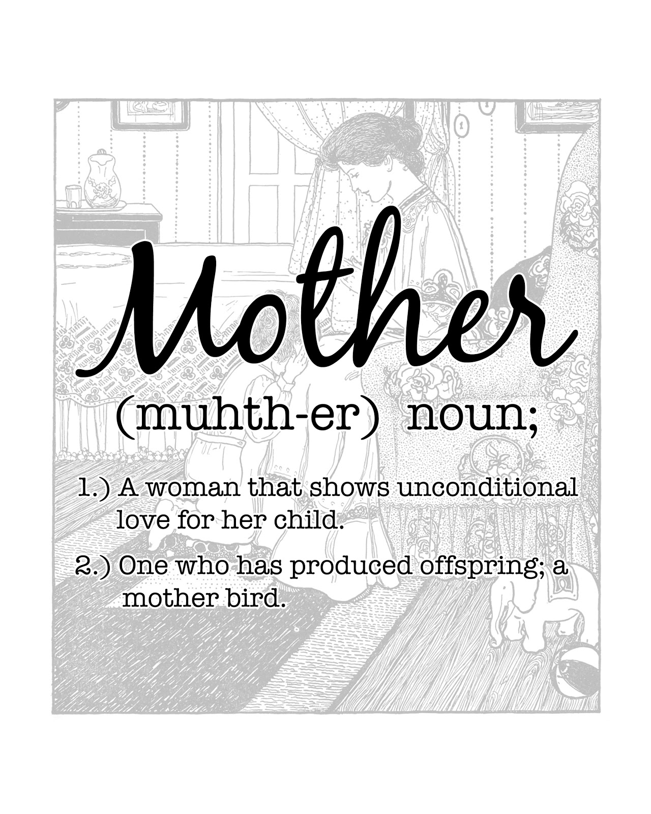 definition of a mother Definition of working mother in the financial dictionary - by free online english dictionary and encyclopedia what is working mother meaning of working mother as a.