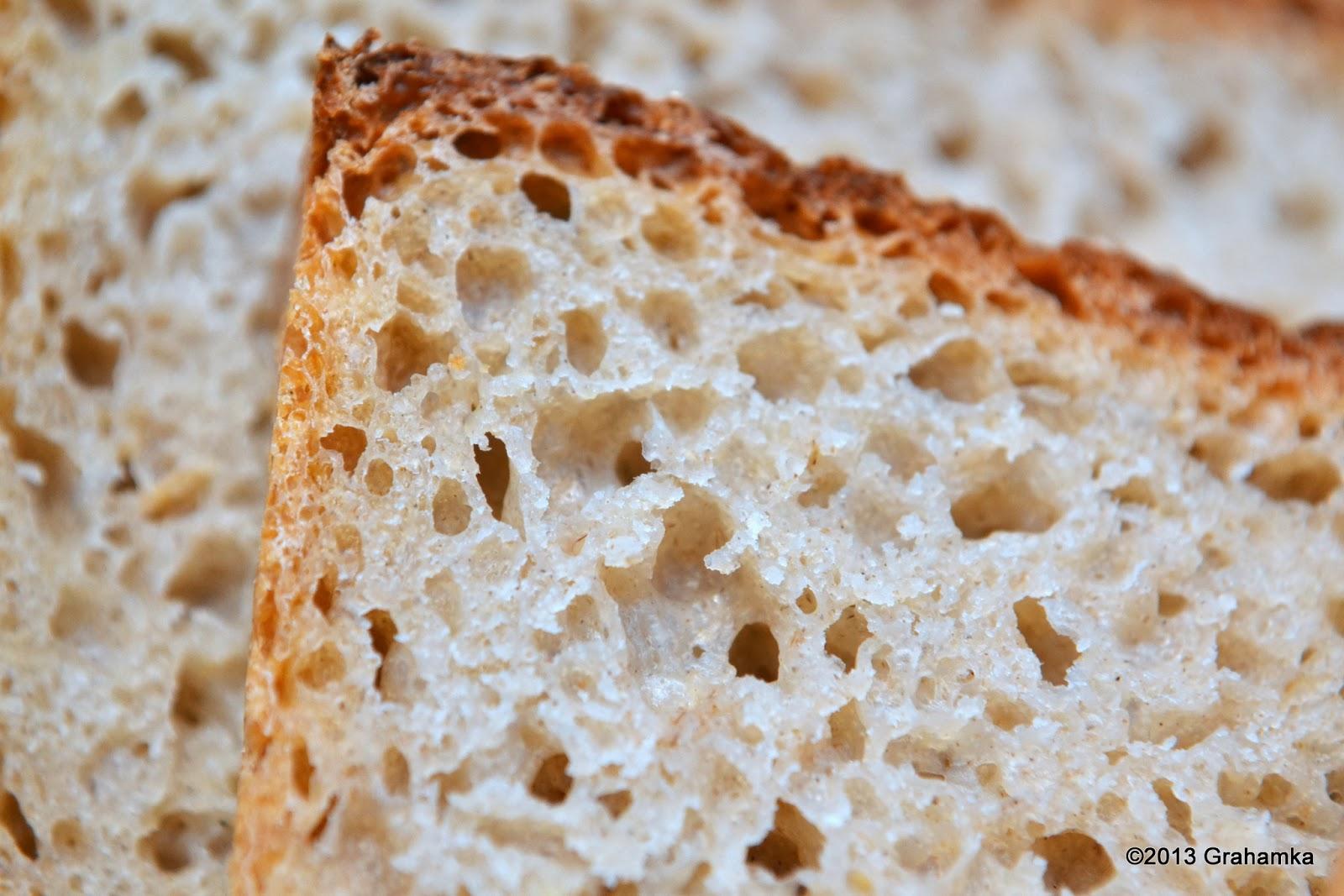 Chleb żytni, łatwy i szybki.