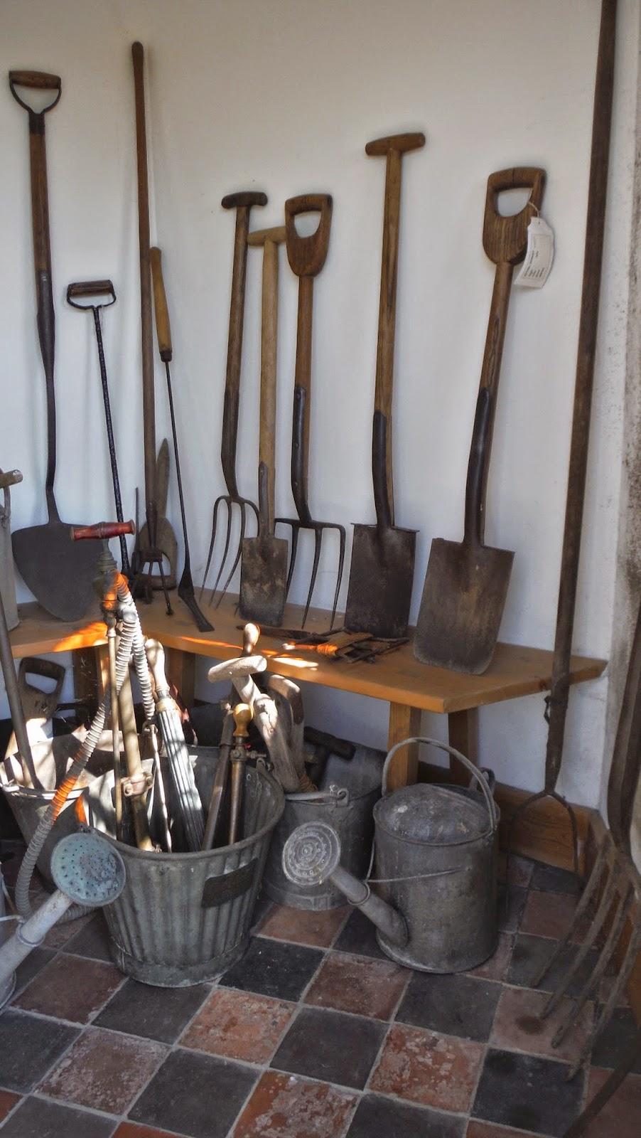 old+garden+tools