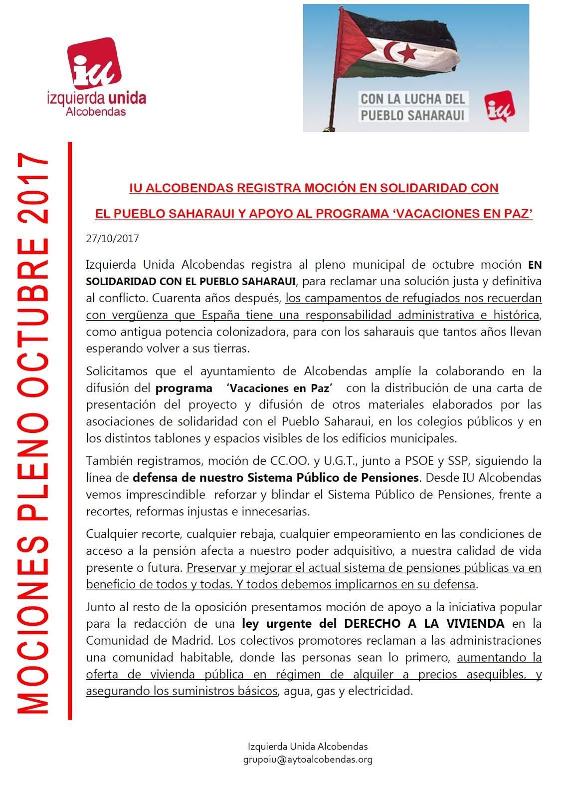 Solidaridad Pueblo Saharaui