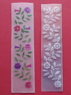 Parchment craft free pattern for bookmark