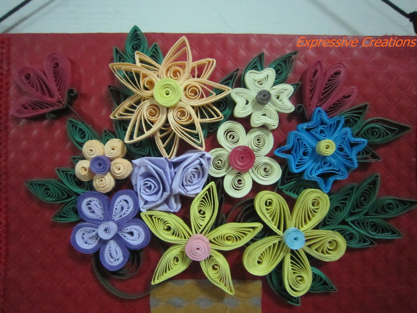 Quilled Art Indian Wedding Cards