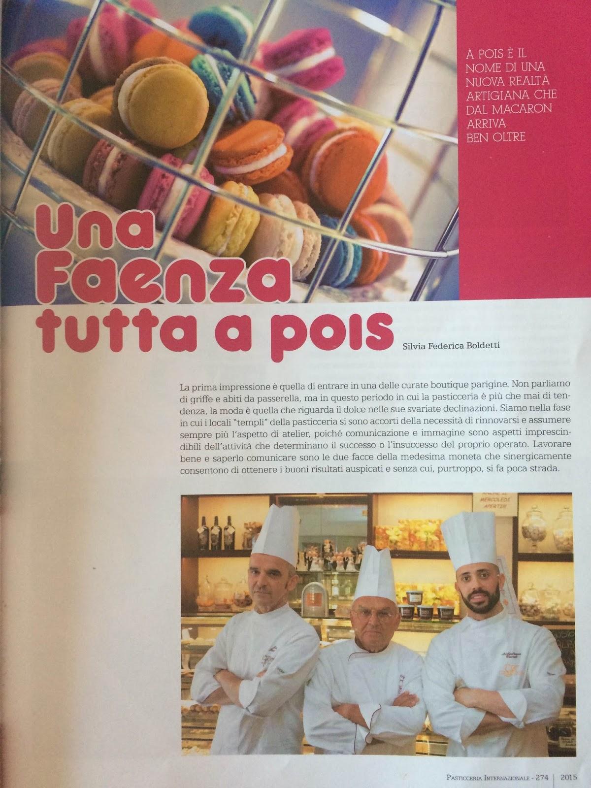 Pasticceria Fantasia & Scrittura Una Faenza Tutta A POIS
