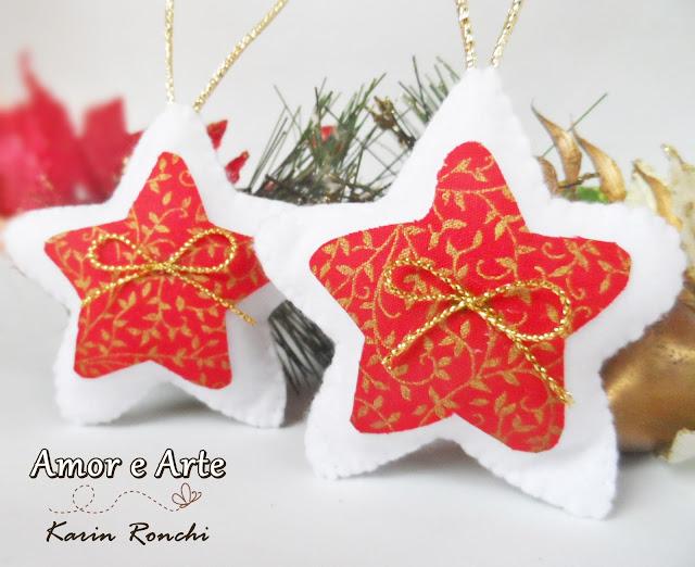 Anjinhos Natalinos + Estrelas