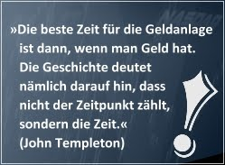 Investiere wie John Templeton