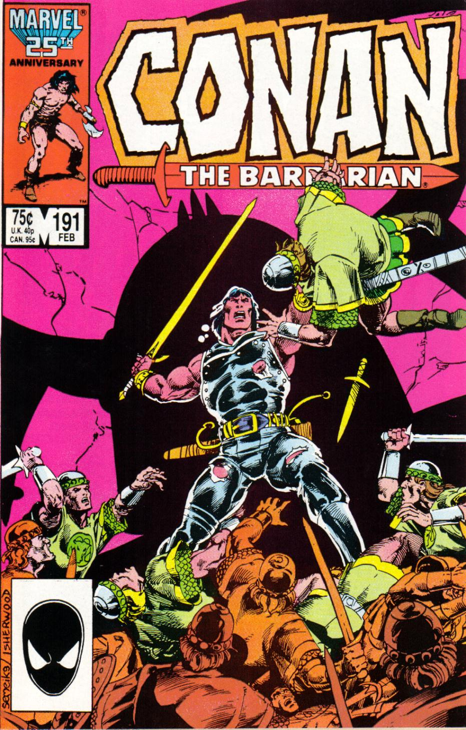 Conan the Barbarian (1970) Issue #191 #203 - English 1