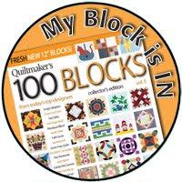 I'm in Quiltmaker's 100 Blocks!