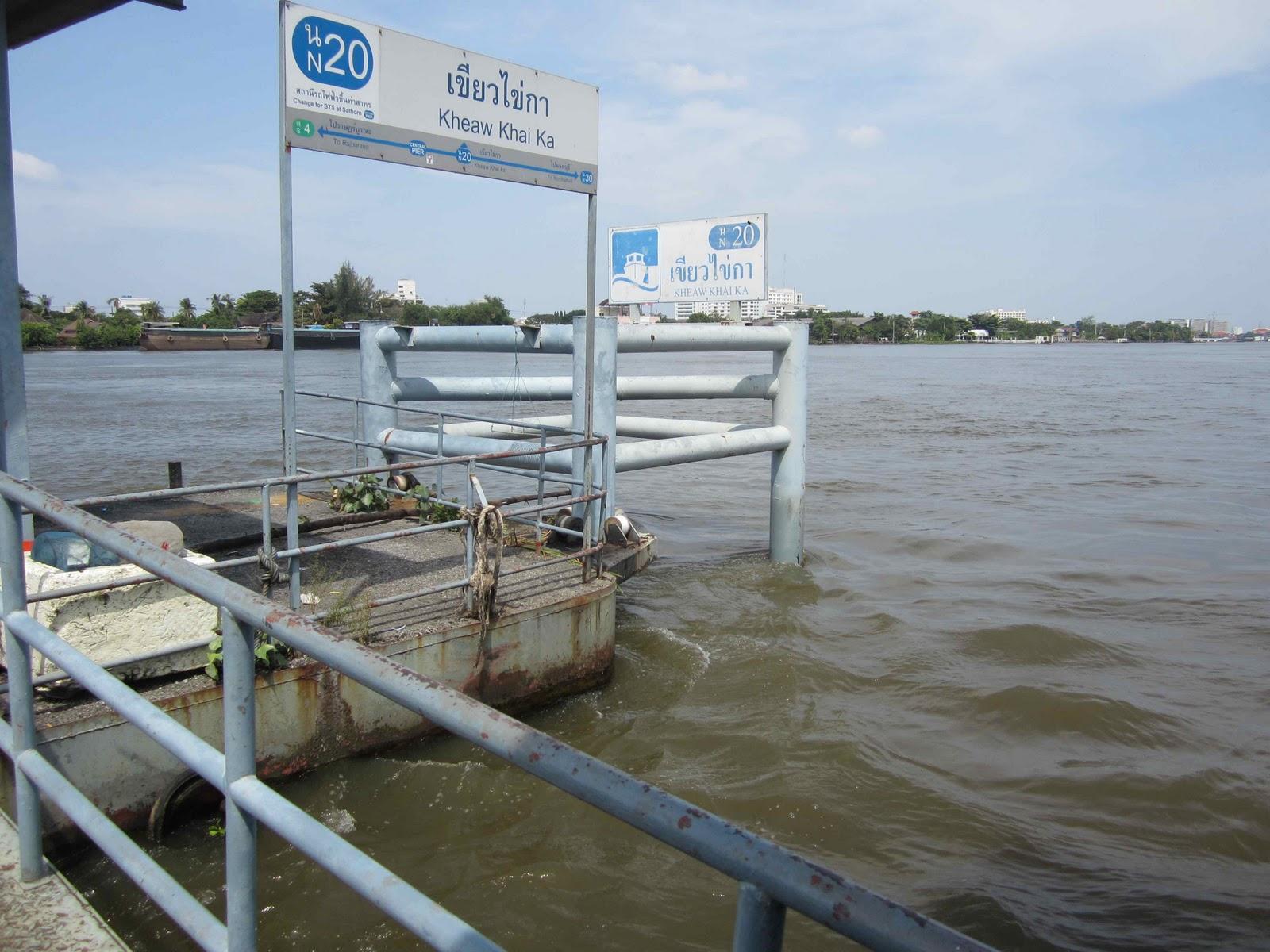 Bangkok by Bicycle First ride map Bangkok Flood Scouting