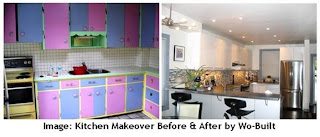 Renovation Before & After: Kitchen Makeover by Wo-Built