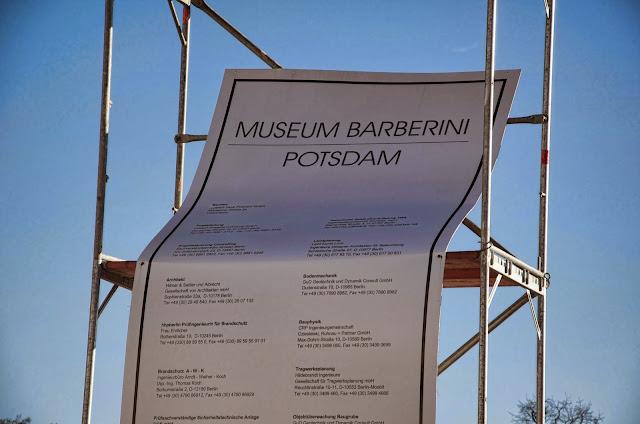 Baustelle Potsdam, Neubau Museum Barberini, Am Alten Markt, 14467 Potsdam, 11.01.2014