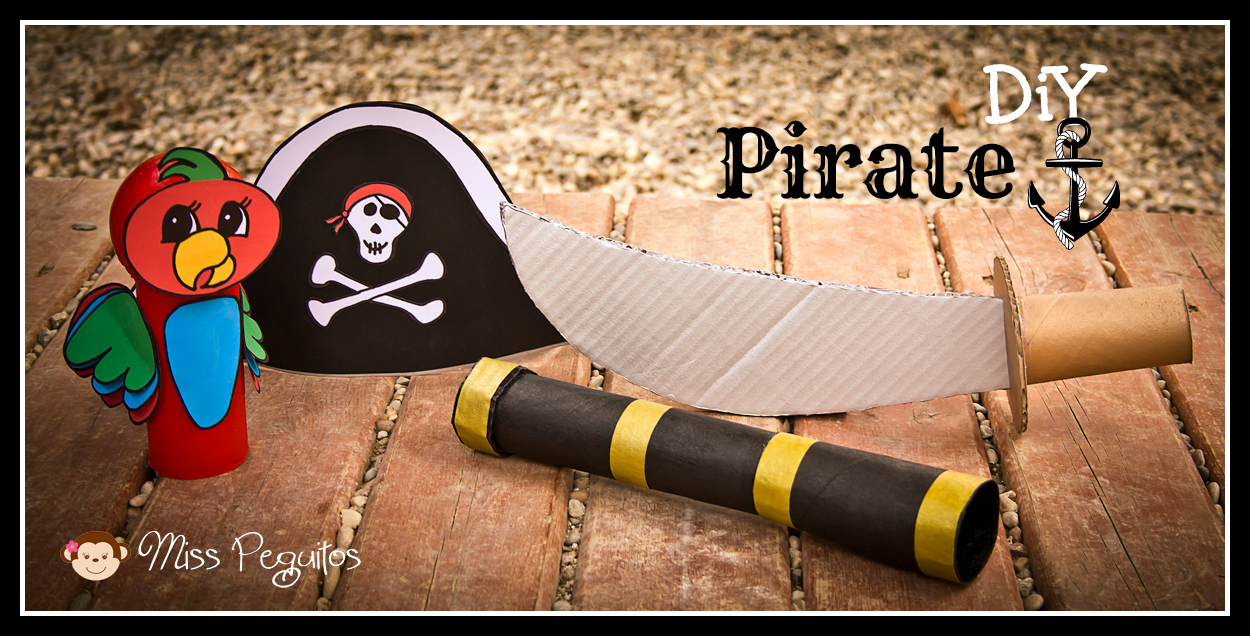 DiY Disfraz casero de pirata