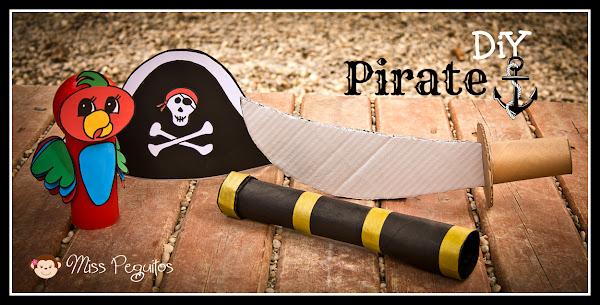 Disfraz Casero de Jake el Pirata Diy Disfraz Casero de Pirata