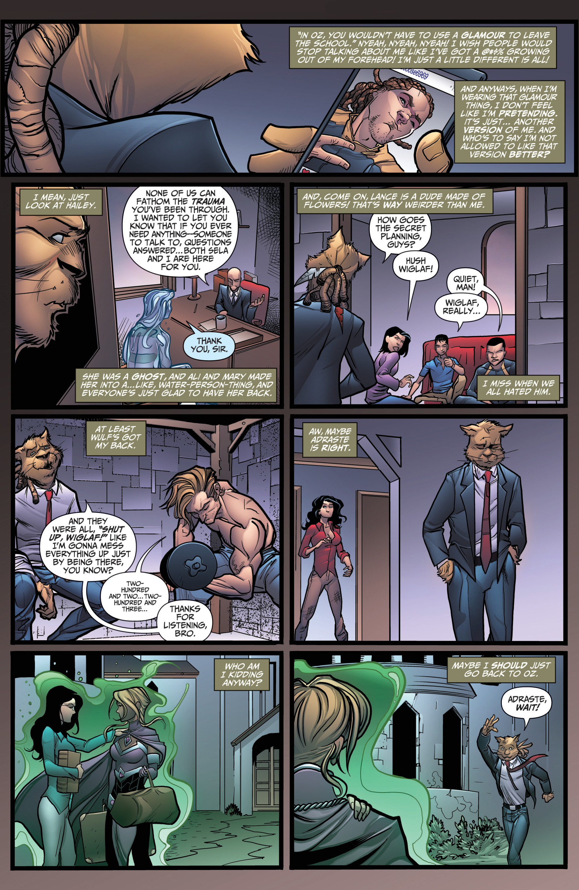 Grimm Fairy Tales (2005) Issue #118 #121 - English 4
