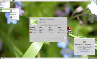 LMDE Mate desktop