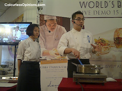 Dave's Deli Bistro One Utama Hubert Ly Pastry Demonstration