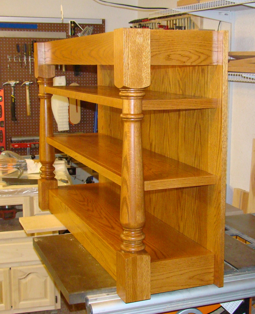 my woodworking projects mobile kitchen island part ii