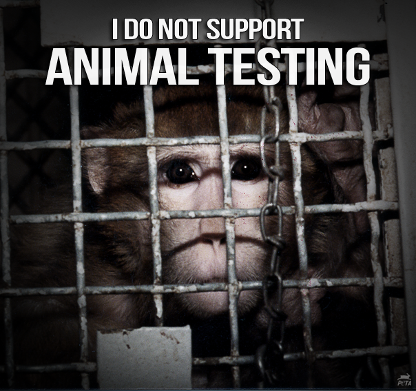 I Don't Support Animal Testing