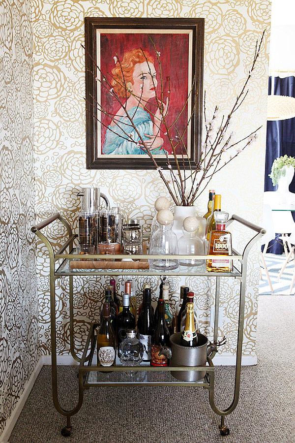 Kp decor studio decorar con camareras vintage decor with vintage drink trolleys - Carrito bebidas ...