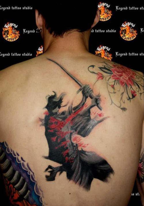 Samurai Tattoo