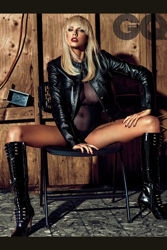 Charlotte Mckinney topless photo shoot for GQ UK magazine December 2015