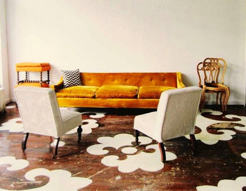 10 originales maneras de poner suelos de madera en tu hogar