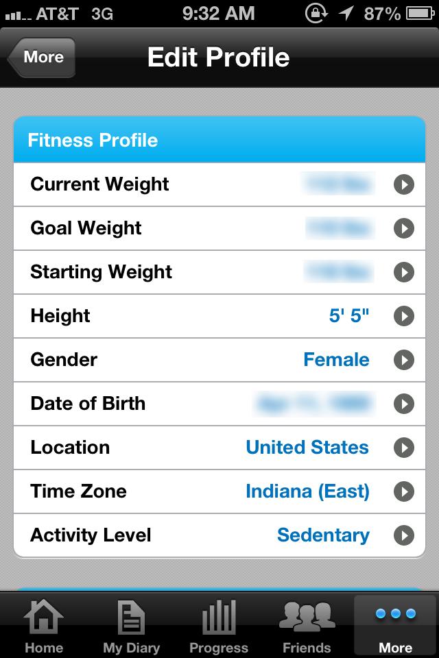 ... In Cheetah Leggings: Product Review: MyFitnessPal App (iPhone/iPad