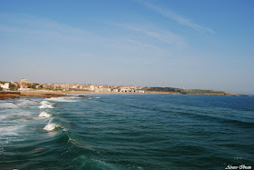 Vista playa Santander