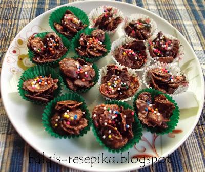 Cornflakes Coklat Simple