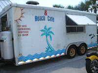 Beach Cafe in Ormond By The Sea Florida at Tom Renick Park