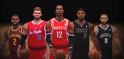 NBA 2K13 Super Tight Jerseys Mod