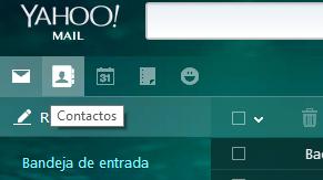 Nuevo Importar Contactos en Correo Yahoo