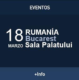 David Bisbal, Gira Tu y Yo, Rumania, Sala Palautului, Bucarest, 2015