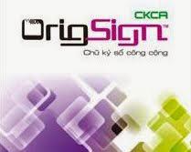 Chữ ký số CKCA