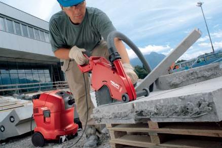 Резка бетона ручными резчиками