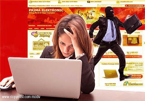 Penipuan Berkedok Toko Untuk Belanja Online