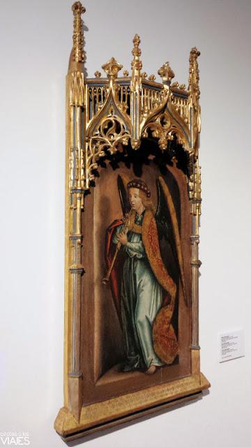 Cuadro de Pedro Berruguete en Museu Maricel, Sitges